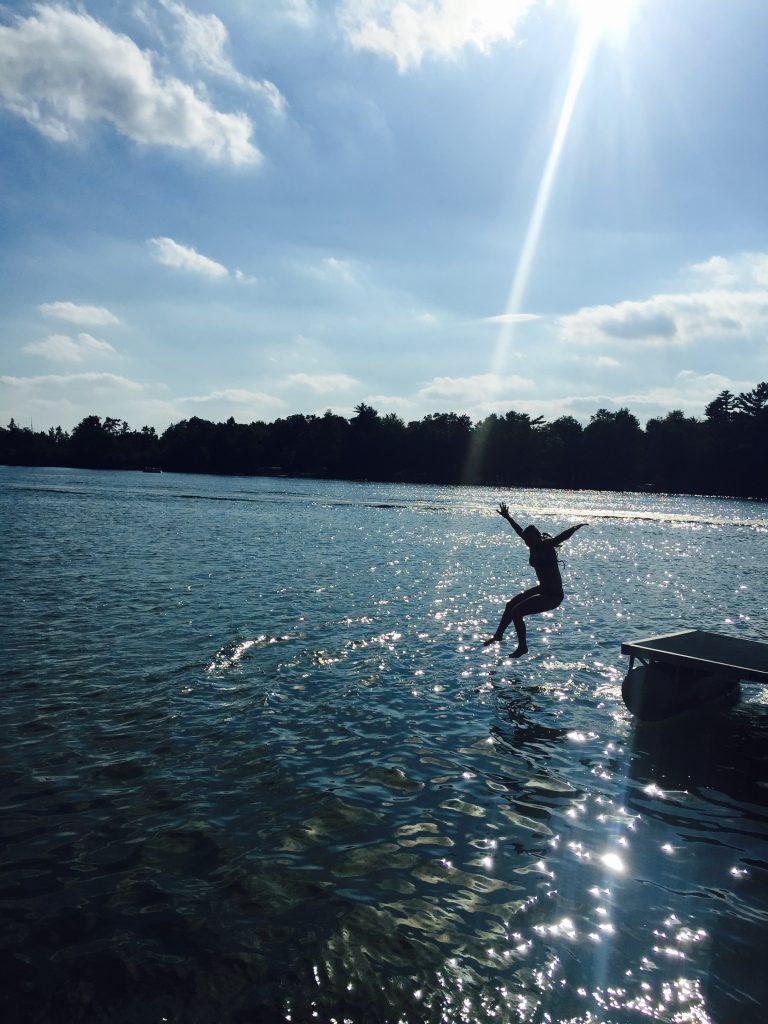 Lake dive - Divine Muscles class